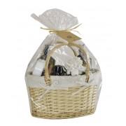 Perfumanía set baño Lavanda y Gardenia cesta mimbre (6 piezas) ref MK812202