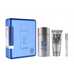 212 Men Carolina Herrera Edt 100 Vapo + Bálsamo + Spray