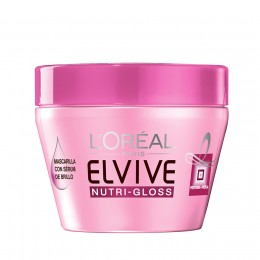 Elvive Mascarilla Nutrigloss 300 ml.