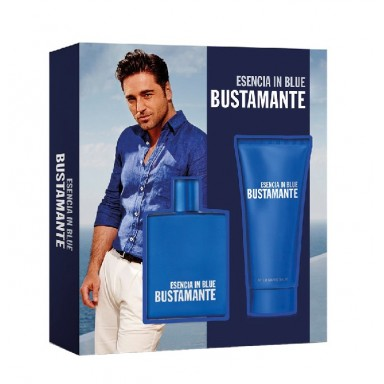 Bustamante Esencia in Blue Edt 100 Vapo + balsamo