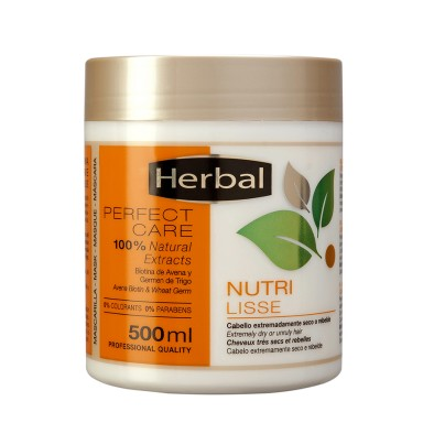 Herbal Mascarilla PC Nutri-Lisse 500 ml.