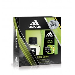 adidas men pure game edt 50 vapo estuche