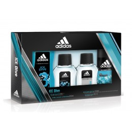 Adidas Men Ice Dive Edt 100 Vapo Estuche