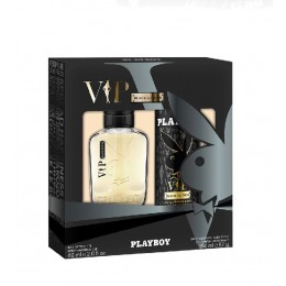 Playboy Vip Black edt 60 ml vapo + deo spray
