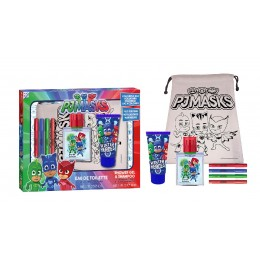 Pj Masks edt 50 ml + gel + bolsa + rotuladores