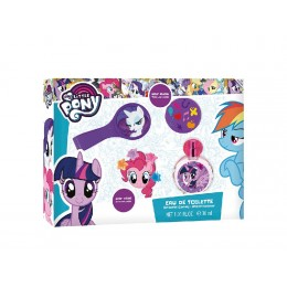 My Little Pony edt 30 ml + accesorios para el cabello