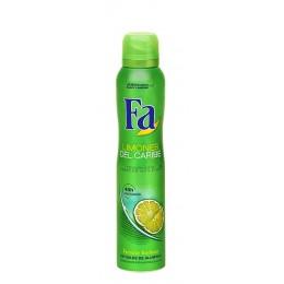 Fa Caribean Lemon Desodorante Spray 200 ml.