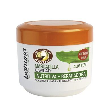 Babaria Aloe Vera Mascarilla 400 ml.