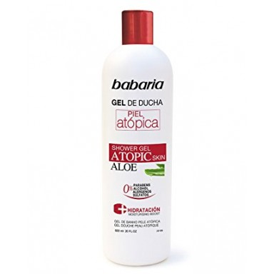 Babaria Atopic gel de ducha 600 ml