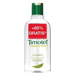 timotei champu 400 + 350 ml fresco y puro