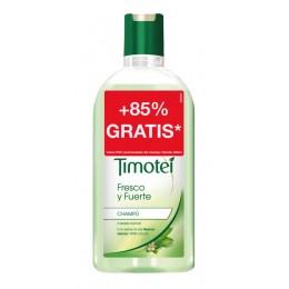 timotei champu 400 + 350 ml fresco y fuerte