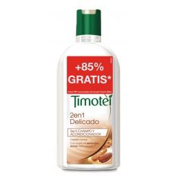 timotei champu 400 + 250 ml 2 en 1 delicado