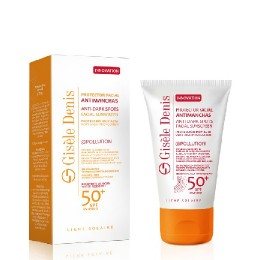 Gisele Denis crema solar F-50+ antimanchas 40 ml