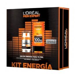 L'Oreal Men Expert Set Hydra Energetic 24 h. crema 50 ml. + Gel Ducha REGALO