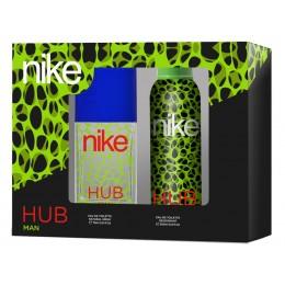Nike man Hub edt 75 vapo + desodorante spray 200 ml