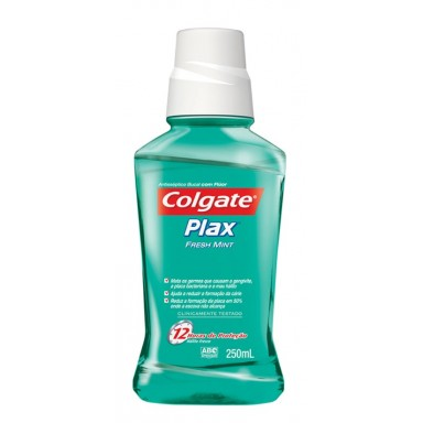 Colgate enjuague bucal Plax menta sin alcohol 500 ml