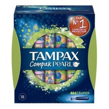 Tampax Pearl compak super 18 uds.
