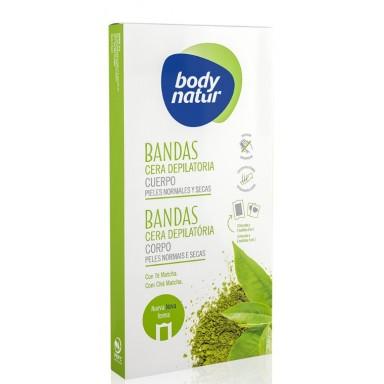 Body Natur Bandas Cera Corporal 16 Uds. normal/seca