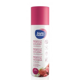 Body Natur mousse depilatorio frutos rojos 200 ml. todo tipo piel