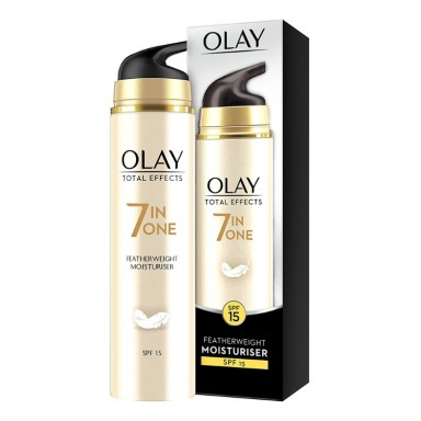 Olay Total Effects 7 en 1 crema hidratante ligera día FP-15 50 ml