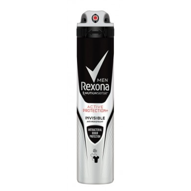 Rexona man Active Protection invisible antibacterias desodorante spray 200 ml