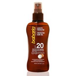 Babaria Solar Aceite Coco Spray SPF-20 100 ML.