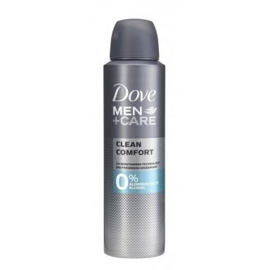 Dove Men Clean Confort 0% aluminio deo spray 150 ml
