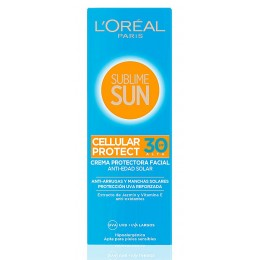 L'oreal Sublime Sun 75 ml. crema facial Cellular Protect F-30