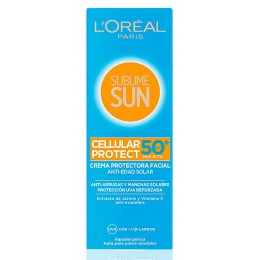 L'oreal Sublime Sun 75 ml. crema facial Cellular Protect F-50+