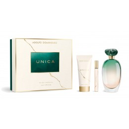 Adolfo Domínguez Unica edt 100ml vapo + body lotion 75 ml + edt 10 ml