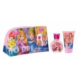 Princesas neceser edt 50 ml + gel 100 ml