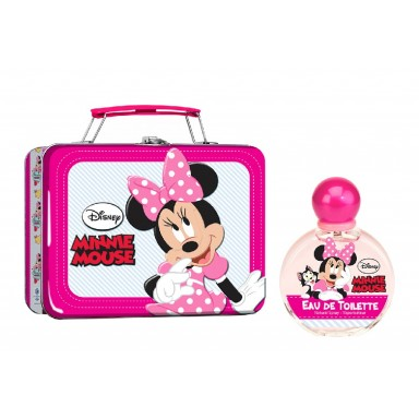 Minnie maleta metálica edt 100 ml