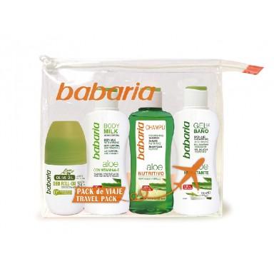 Babaria neceser viaje Deo + Body + Gel + Champú