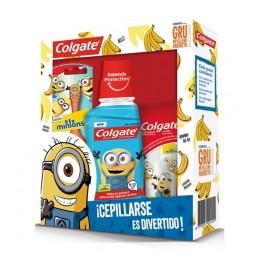 Colgate pack niños (dentífrico 50 ml + enjuague bucal 250 ml + cepillo eléctrico