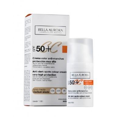 Bella Aurora crema cc 30 ml F-50+ tono medio