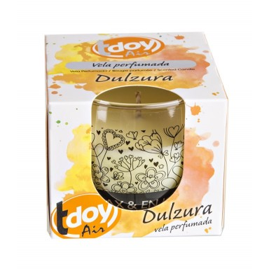 Tdoy Air vela perfumada Dulzura 125 gr