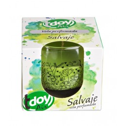 Tdoy Air vela perfumada Salvaje 125 gr