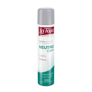 La Toja Espuma de Afeitar Neutro 300 ml.