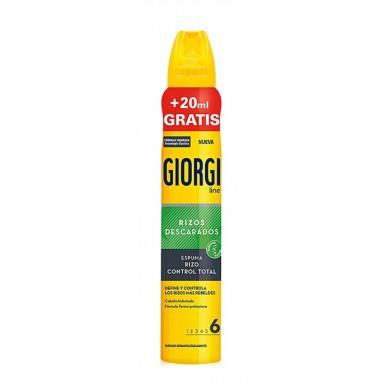 Giorgi espuma 210 + 20 ml rizo control total