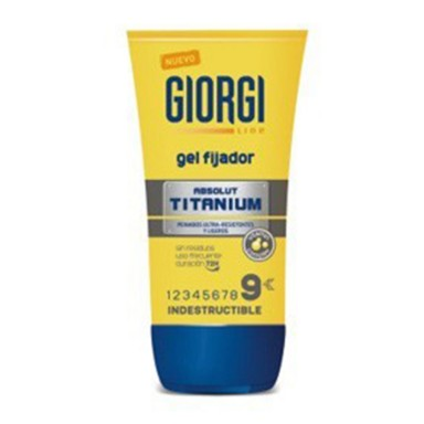 Girogi Gel Fijador Absolut Titanium 150 ml.