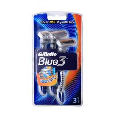 Gillette Blue III Maquinilla de Afeitar Desechable 3 Uds.