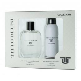 Titto Bluni Collezione edt 100 ml + desodorante spray 200 ml