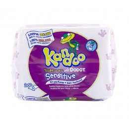 Kandoo toallitas wc recambio 100 uds sensitive