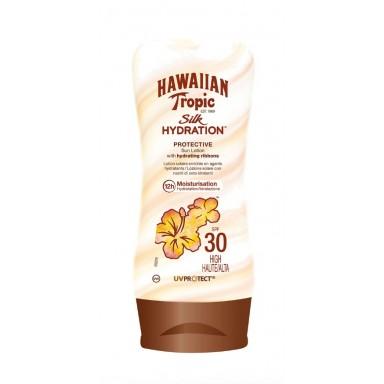 Hawaiian Tropic locion silk F-30 180 ml