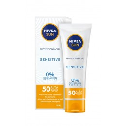 nivea crema facial sensitive F50 50 ml. sin perfume