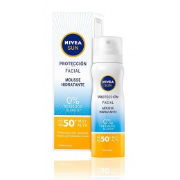 nivea mousse facial hidratante F50+ 75 ml