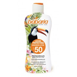 Babaria bronceador 200 ml leche tropical F-50