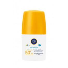 nivea roll on niños sensitive f50 50 ml. sin perfume