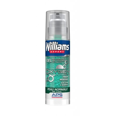Williams gel afeitar Oxygen 150 ml. piel normal