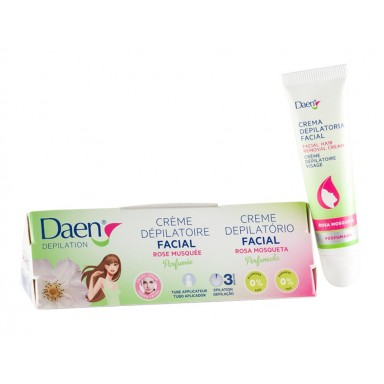 Daen crema depilatoria 15 ml facial sensitive